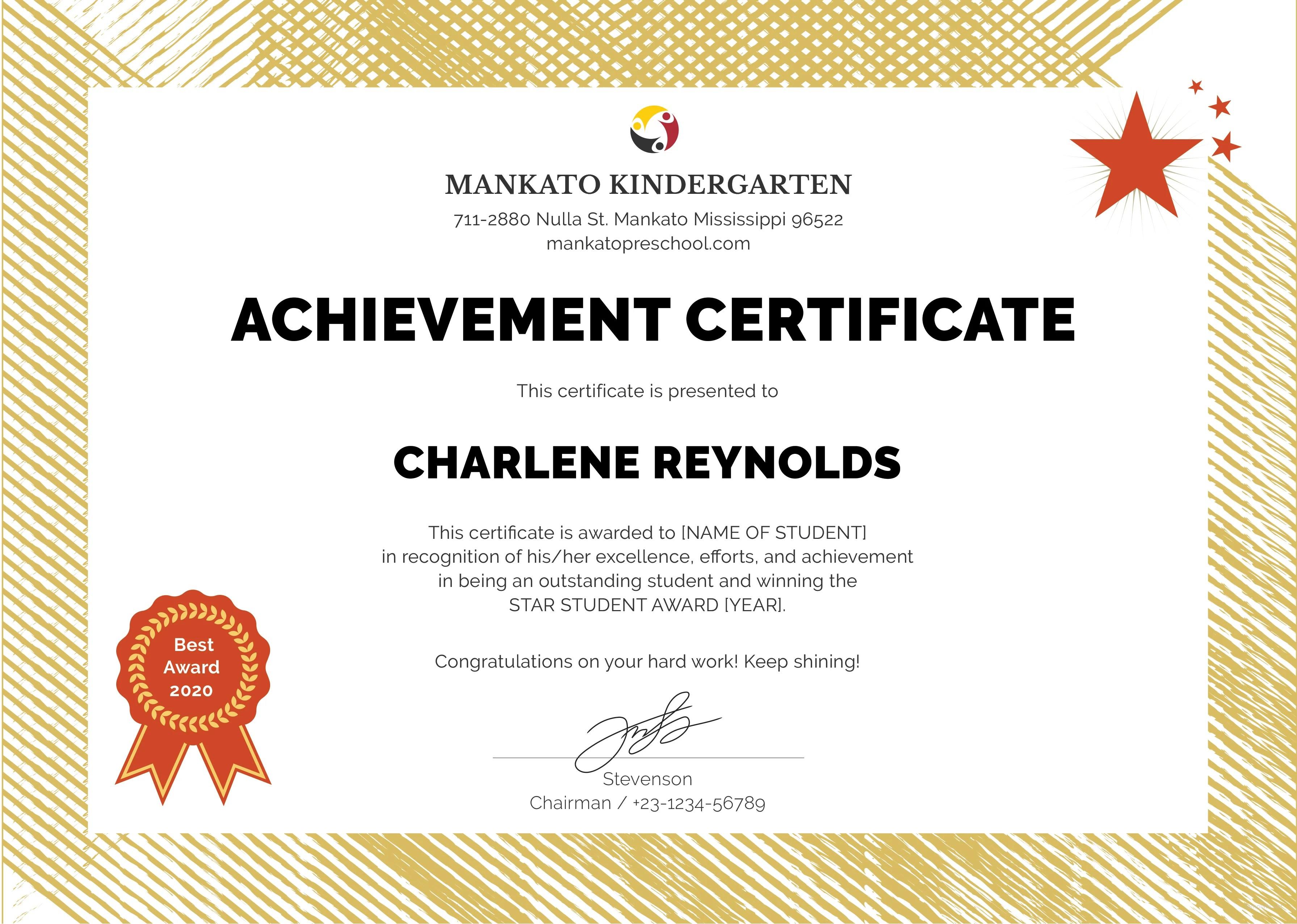 Editable Certificate Membership Templates Free Download