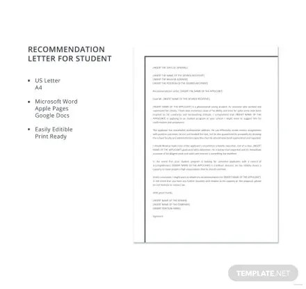 microsoft word template letter of recommendation dulahotw co