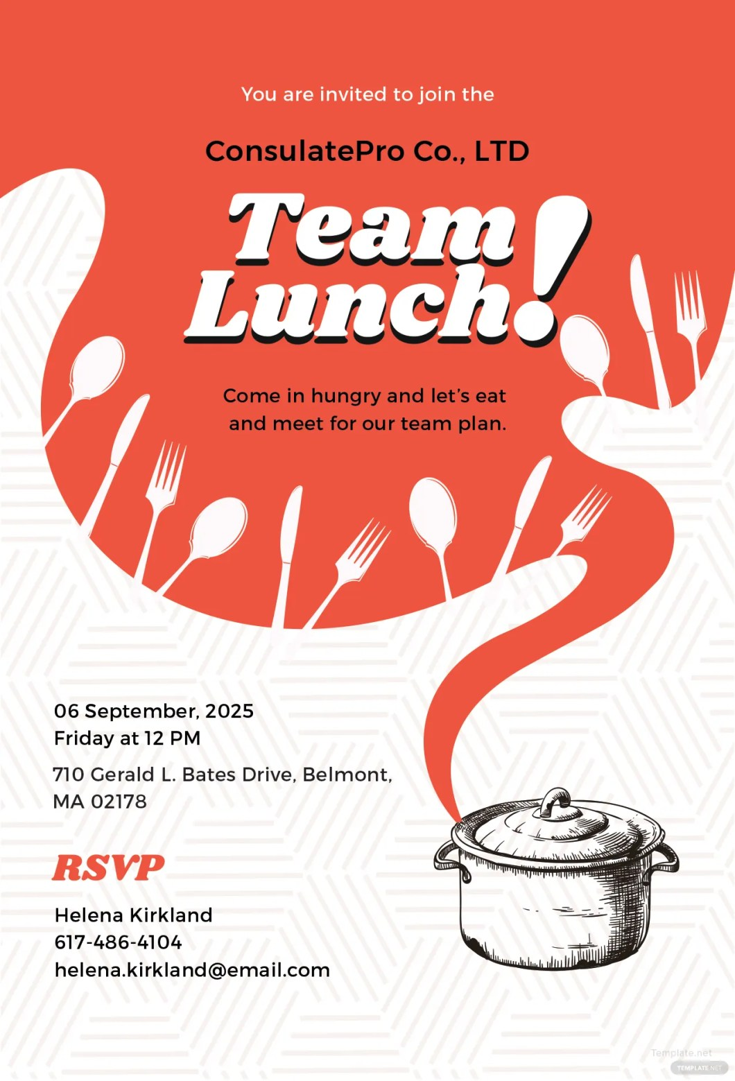 Exelent Invitation For Lunch Party Samples Illustration ...