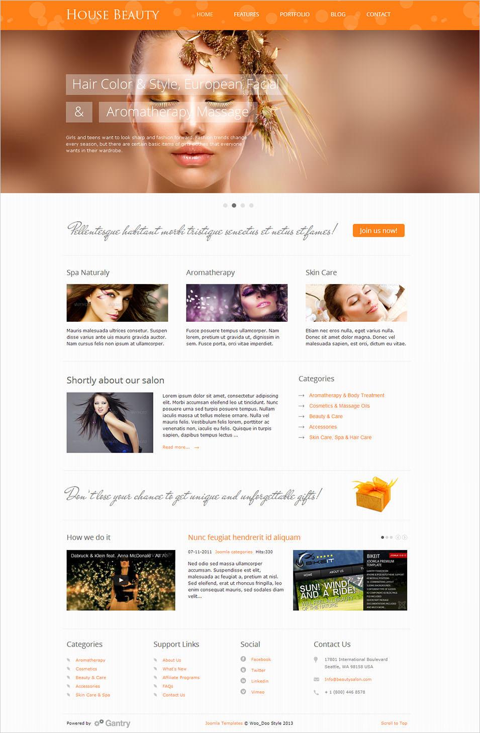 20 Beauty Salon Website Templates Free Amp Premium Templates