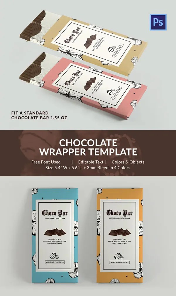 25 Excellent Chocolate Packaging Designs Free Amp Premium