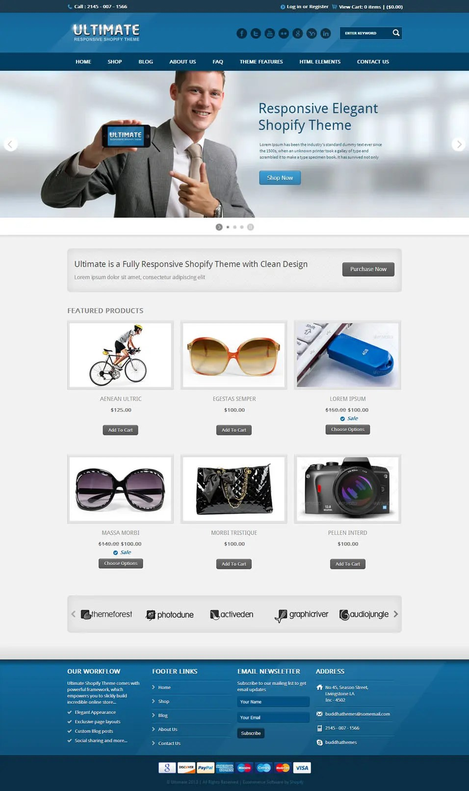 Best SEO Shopify Themes Free Amp Premium Templates