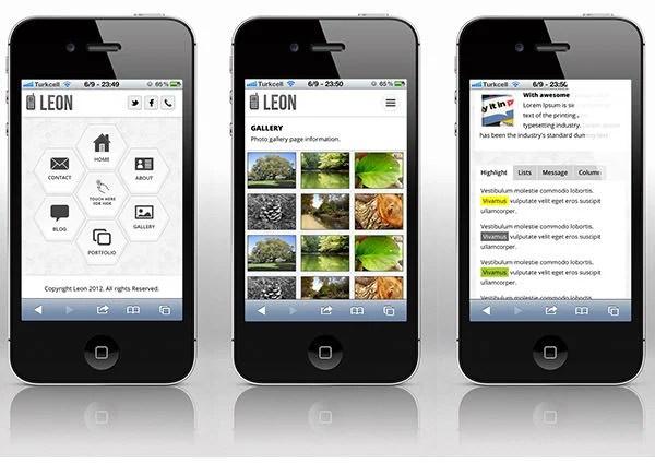 30 Best Retina Ready Mobile Web Templates Free Premium Templates