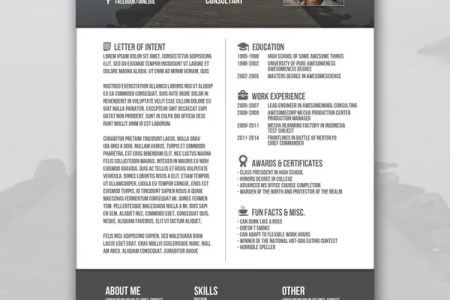 free modern marketing resume templates   Forte euforic co free modern marketing resume templates