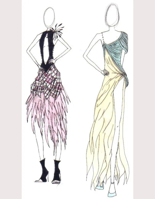 50  Best Fashion Design Sketches for your Inspiration   Free     fashion