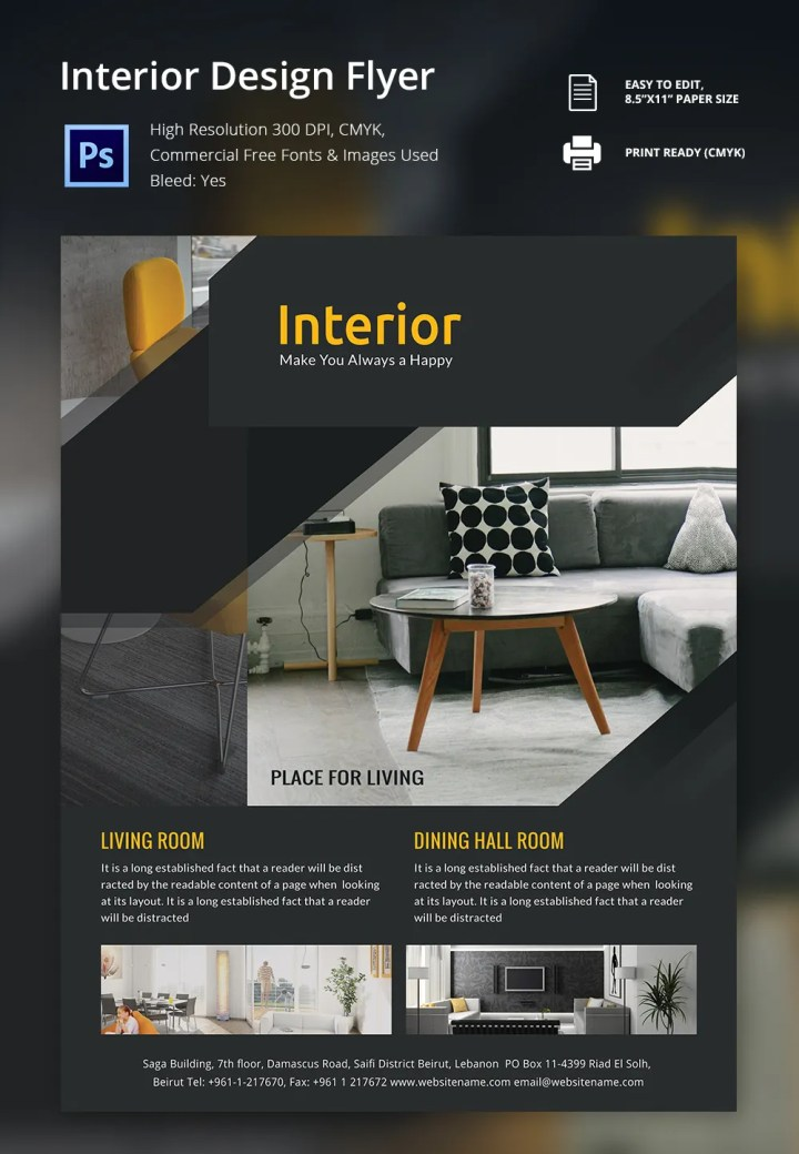 Interior design company profile pdf for Interior design companies