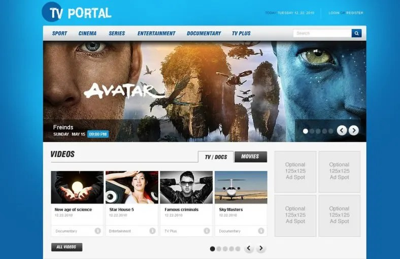 15 News Channel HTML5 Website Themes Amp Templates Free Amp Premium Templates