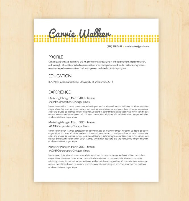 basic resume template 51 free samples examples format - Basic Resume Samples