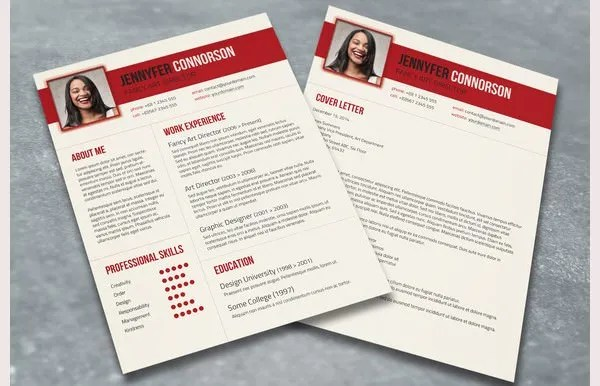 PSD Resume Template 51 Free Samples Examples Format Download Free Amp Premium Templates