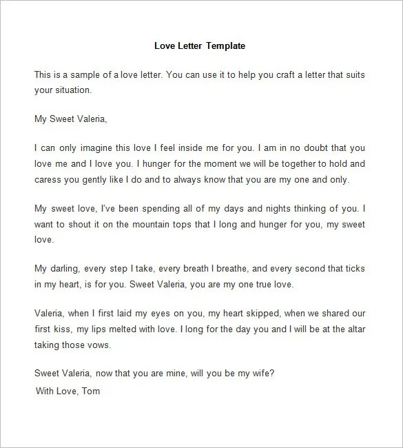 Passionate Love Letters For My Wife | Docoments Ojazlink