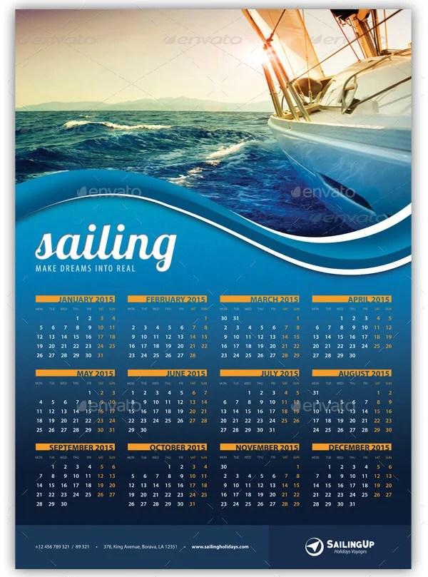 22 Best 2016 Calendar Templates To Print Free Amp Premium Templates