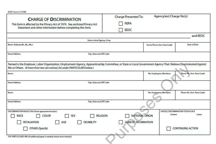 Eeoc Complaint Letter  Docoments Ojazlink