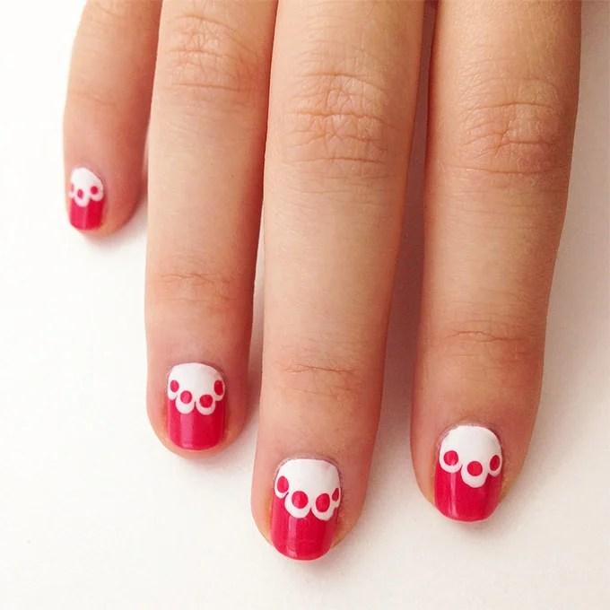 Valentine Nail Art Design
