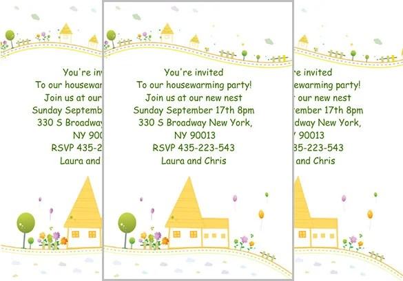 House Warming Invitation Card PaperInvite