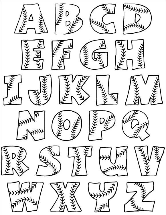 30 Alphabet Bubble Letters Free Alphabet Templates Free Premium Templates