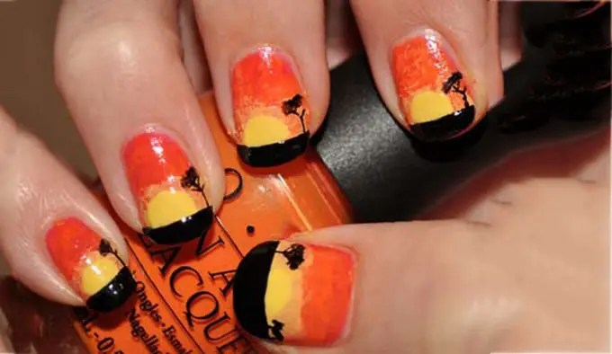 Best Fall Nail Art Design