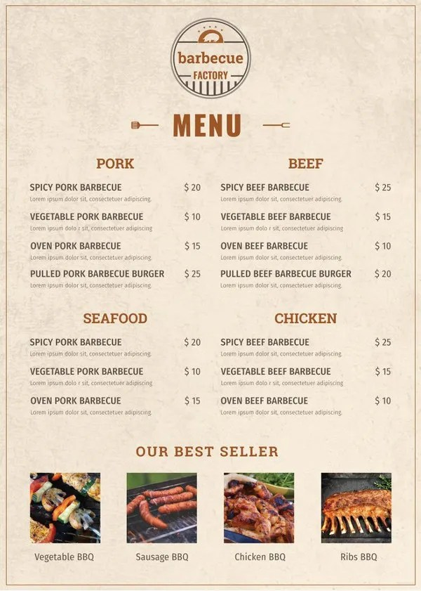 40 Menu Design Templates Free Sample Example Format Download Free Premium Templates