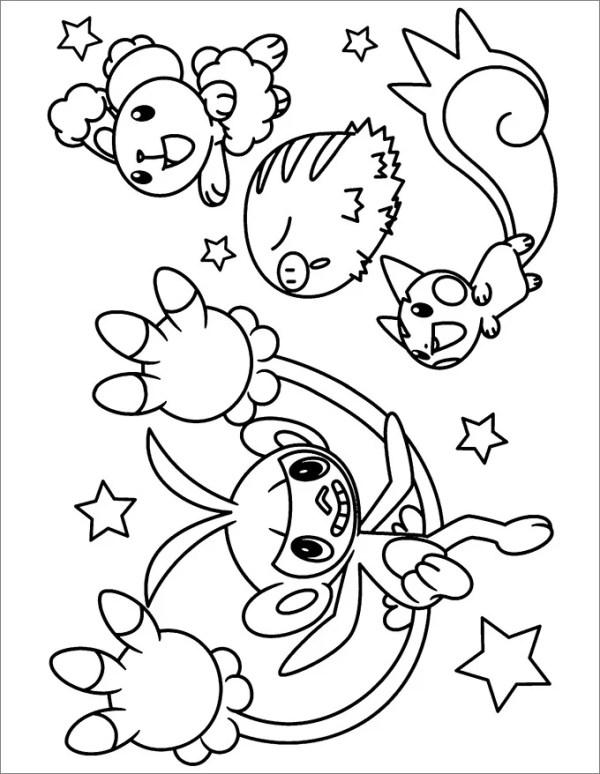 pokemon coloring # 22