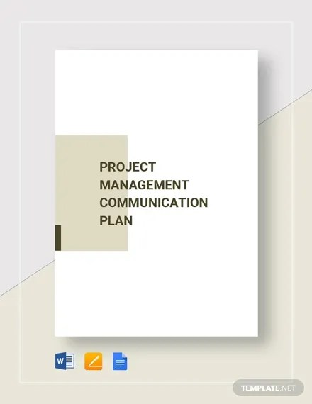 We have included helpful hints and some example entries in the template to get you started. 9 Project Communication Plan Templates Pdf Word Format Download Free Premium Templates