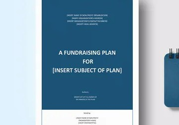 Grabs Full Pixels » Financial Business Plan Templates   8  Free   Premium Word  Excel     Sample Fundraising Plan Template
