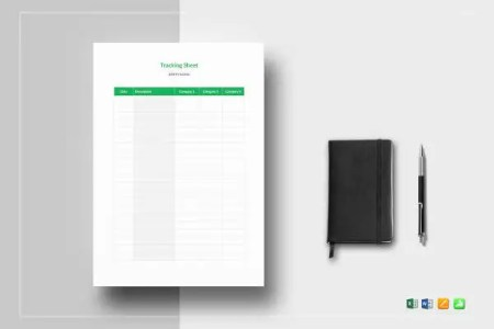 13  Tracking Sheet Templates     Free Sample  Example Format Download     Tracking Sheet Template