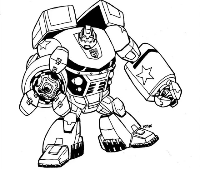 Transformers Colouring Pages Free Premium Templates