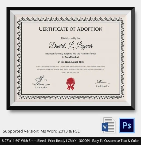 Printable dog adoption papers best papers 2018 printable dog adoption kits printable animal surrender form yadclub Choice Image