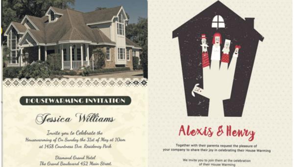 35 Housewarming Invitation Templates