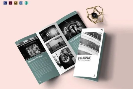 17  Fabulous Google Brochure Templates   PSD  AI  InDesign   Free     Multipurpose Portfolio Brochure Illustrator Template