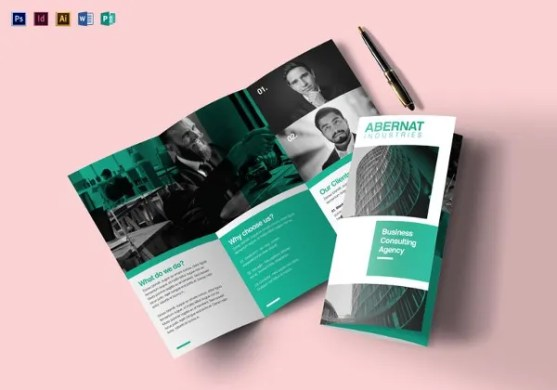 40  Brochure Design Ideas and Examples    Free   Premium Templates Multipurpose Tri fold Brochure Template