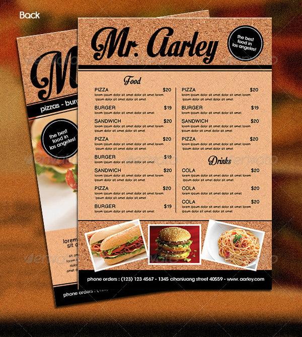 Fast Food Restaurants Examples