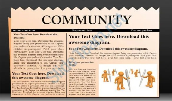 PowerPoint Newspaper Template 21 Free PPT PPTX POTX Documents Download Free Amp Premium