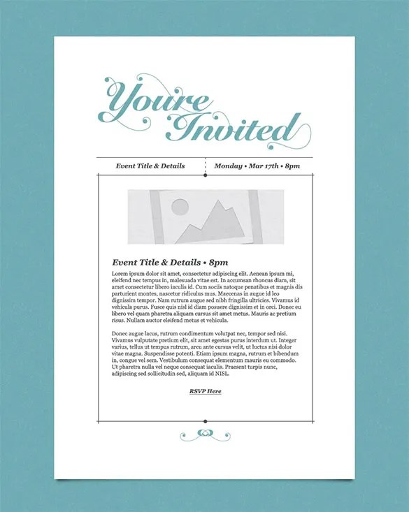 Business Event Email Invitation