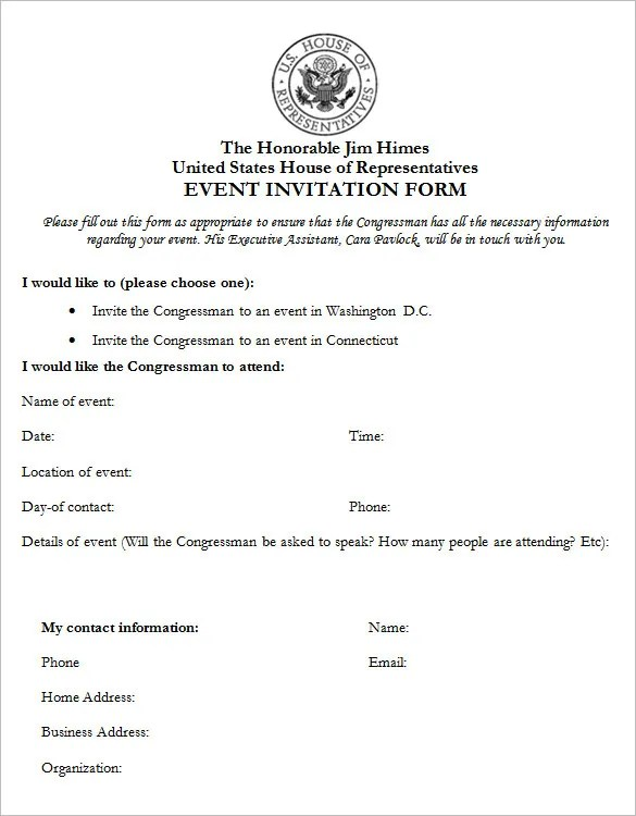 Business Meeting Invitation Letter Sample