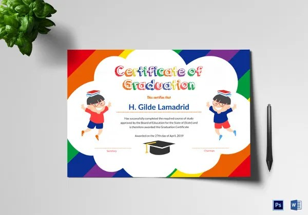 images for certificate template for kids