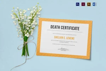 death certificate template word   Gotta yotti co death certificate template word