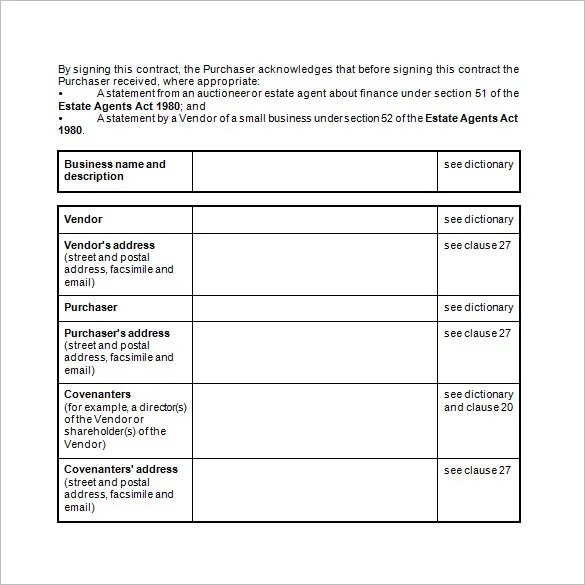 Contract Template  Business Contract Template  All Form Templates