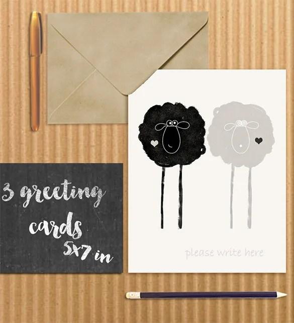 Art Prints And Greeting Wedding Card Envelope Template 8