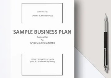 Grabs Full Pixels » Financial Business Plan Template   13  Free Word  Excel  PDF Format     Business Plan Word Template