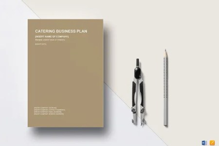 Catering Business Plan Template     13  Free Word  Excel  PDF Format     catering business plan  Download