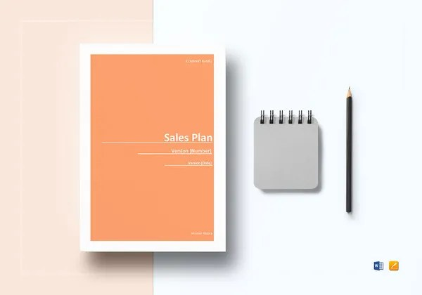 Financial Business Plan Template   13  Free Word  Excel  PDF Format     Editable Sales Plan Template