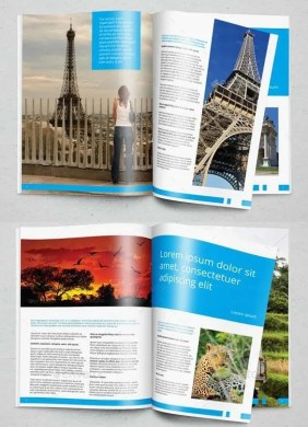 48  Travel Brochure Templates   Free Sample  Example Format Download     Download Traveler Brochure in Indesign Format