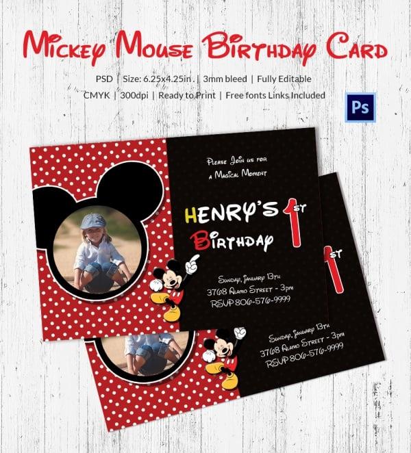 Birthday Invitations Disney