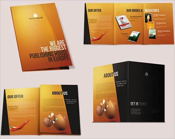 10 How To Make A Brochures Top Brochure Making