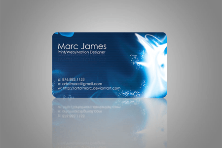 21  Blue Business Cards     Free Printable PSD  EPS  Word  PDF Format     Awesome Stylish Blue Business Card For Free