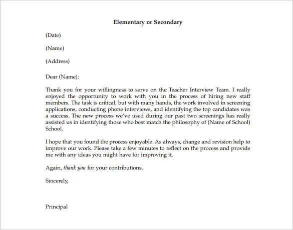 Thank You Letter To Mentor 9 Free Sample Example