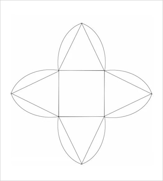 Pyramid Box Template 15 Free Sample Example Format