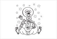 halloween printable coloring pages pdf