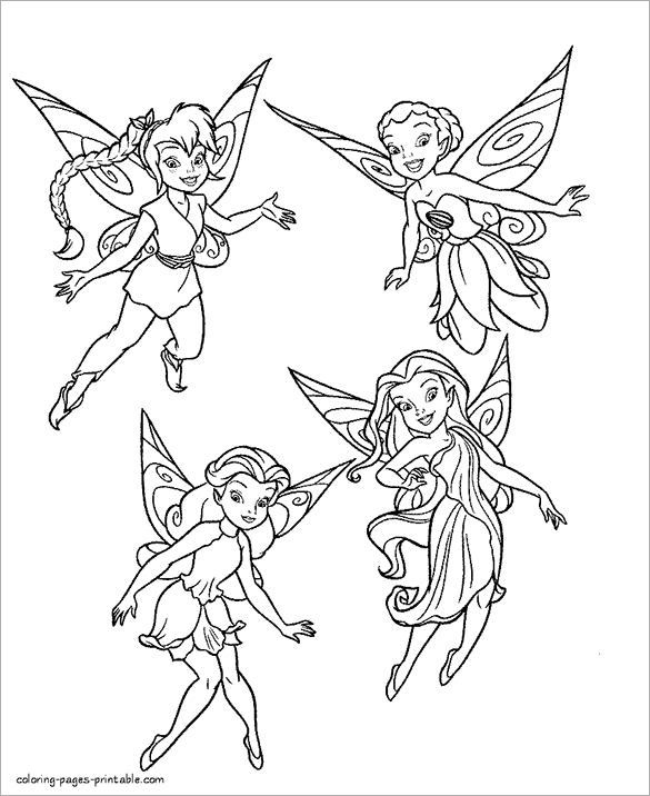 21 Fairy Coloring Pages Doc Pdf Png Jpeg Eps Free Premium Templates