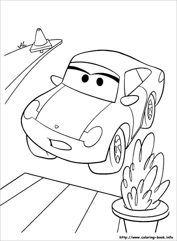 Cartoon Coloring Book Pdf